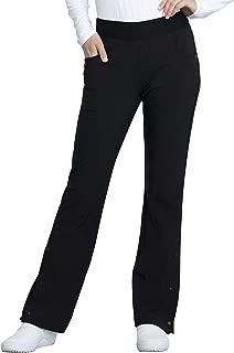 Cherokee iFlex CKK075 Women's Katie Duke Mid Rise Moderate Flare Leg Pull-on Pant