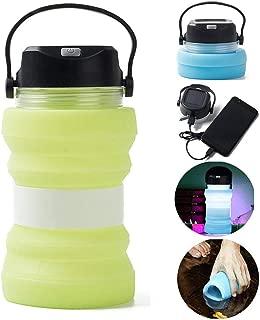 solar water bottle lantern