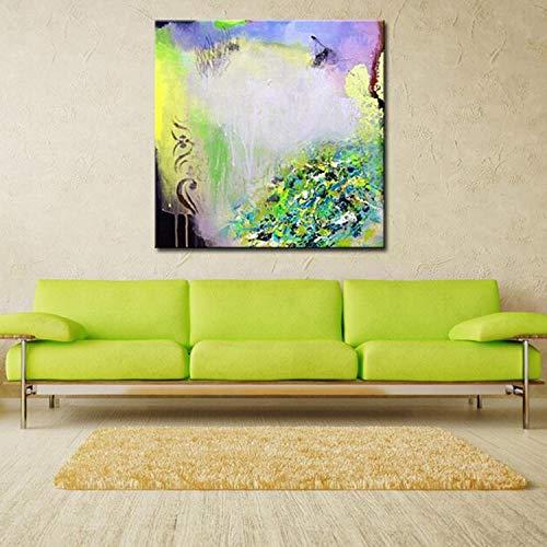 CHASOE Moderne Abstrakte Haushaltswaren Wandkunst Einfache Farbe Acrylbild 100% Handgemachte Malerei Auf Leinwand Für Dekoration Kein Rahmen 30X30