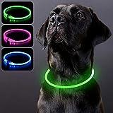 PZRLit Collar Luminoso Perro Recargable, Collar Luz Perros...