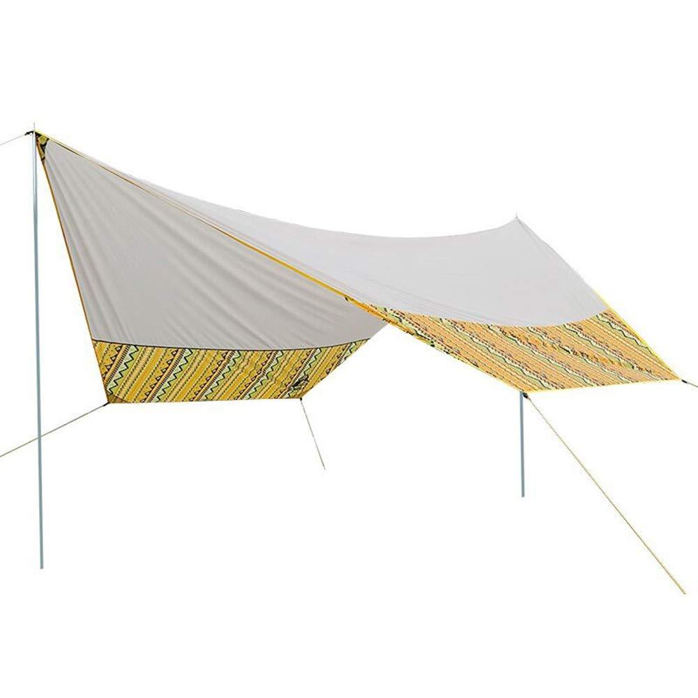 CAIJUN-Shade toldo de Tela para Camping, toldo para Exteriores, portátil, Impermeable, para Playa, pérgola Plegable Reforzada, Duradero: Amazon.es: Jardín