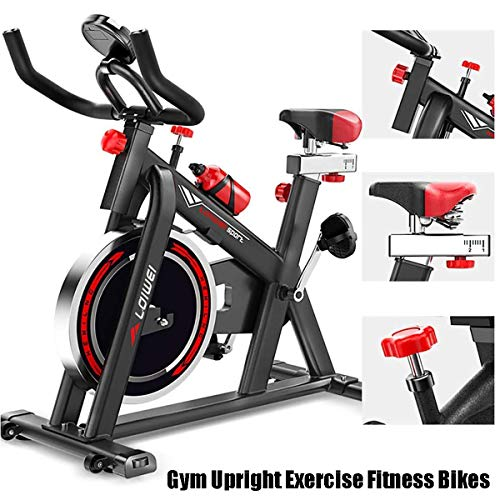 Home Gym Upright Exercise Fitness Bikes met verstelbare Sturen en Seat Fitness Bike en Ab Trainer Sporting Equipment Indoor Cycling Bike aerobic Training Fitness Ideal Cardio Trainer