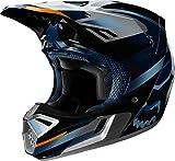 V3 Motif Helmet, ECE FOX Blue/Silver