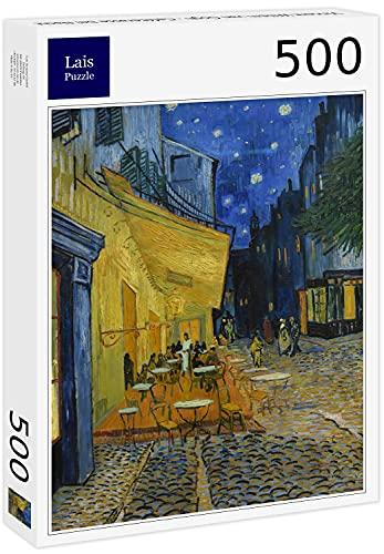 Lais Puzzle Vincent Willem Van Gogh - Terrasse de café la Nuit 500 Pièces