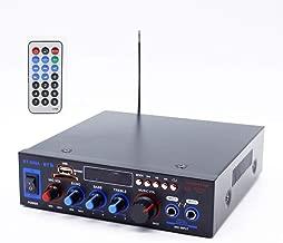 CHENGL Stereo Hi-Fi Audio Amplifier with Bluetooth Support Apt-X, USB Full Digital Power Amplifier Hi-Fi Stereo Compact Amplifier 100W