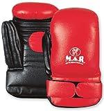 M.A.R International Ltd Echtleder Coaching Training Pad mit Zielscheibe Boxen