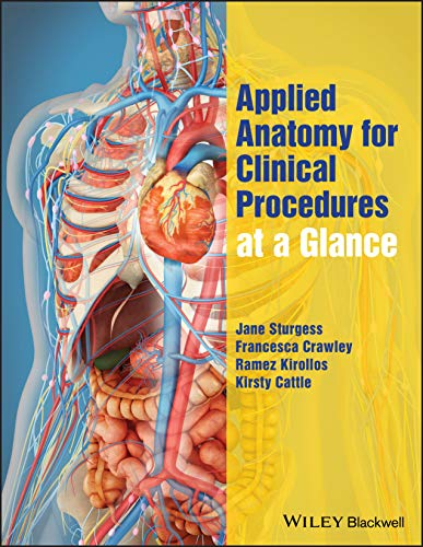 Applied Anatomy for Clinical Procedures at a Glance Front Cover