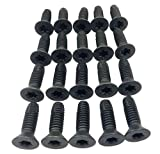 Torx Screws For Jeep Wrangler CJ YJ TJ 1976-2006 Doors | Windshield | Roll Bar | Tailgate | High Grade 8 Anti-Strip Steel (Pack of 20)