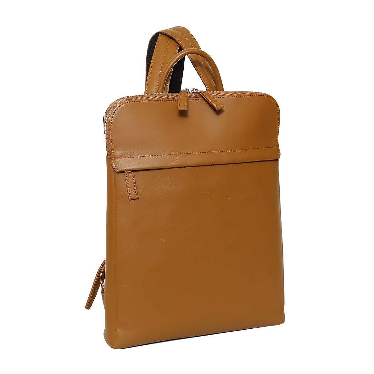 レポートを書く興奮実証する[トライオン] SA226 本革 バックパック A4 リュック メンズバッグ