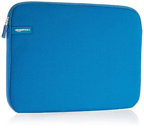 Amazon Basics, custodia per laptop, 13,3 pollici, azzurro
