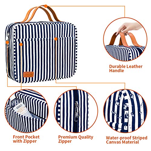 51fylXtetfL - Hanging Travel Toiletry Bag,Large Capacity Cosmetic Travel Toiletry Organizer for Women with 4 Compartments & 1 Sturdy Hook,Perfect for Travel/Daily Use/Valentines Day