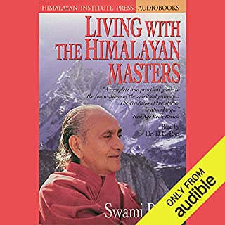 Living with the Himalayan Masters audiobook cover art