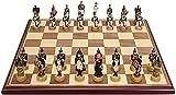 Juego de juegos de mesa de entretenimiento Tablero de ajedrez de madera para niños Desarrollo intelectual Aprender juguetes Simulación Carácter Resina Chess Piece Pieza de almacenamiento Ajedrez Ajedr