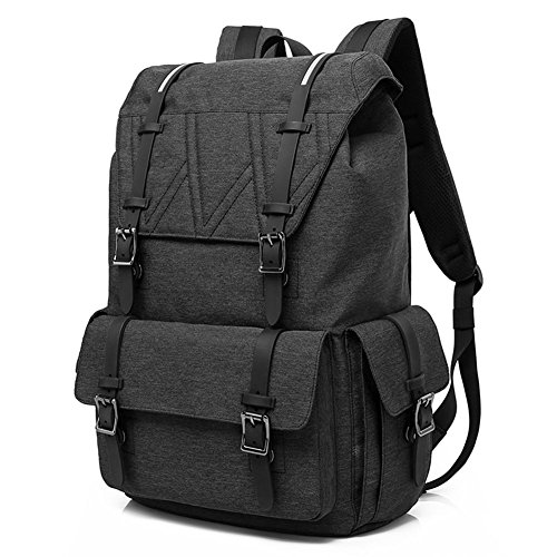 AKASO Travel Laptop Backpack College School Backpack, Large Capacity Laptop Backpack for Men Women,Fits for up to 15.6 inch,Water Resistant with Magnetic Snap Closures