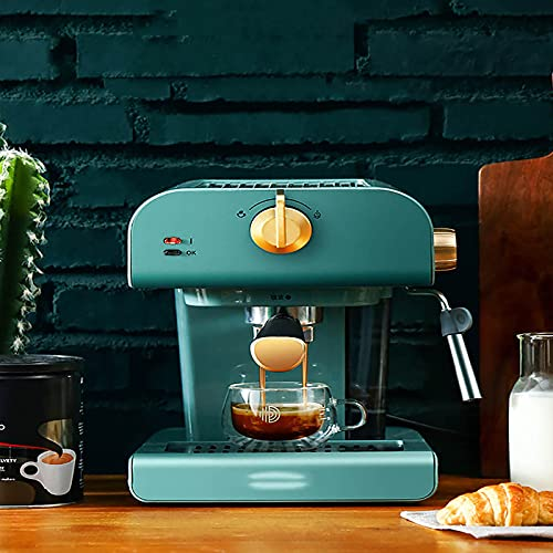 RUBAPOSM Macchina da caffè Semiautomatica, Macchina per Il Caffe all'Americana, 800ml   Macchina da caffè Adatta per caffè Solubile, Espresso, Macchiato, ECC.
