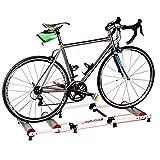 DIFU Reitplattform Fahrradrad Parabolrollentrainer Indoor Training Station Rollentrainer Fahrrad...