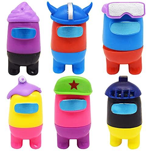 CYSJ Among Us Figuras en Miniatura 6PCS Among Us Figure Toy Entre Nosotros...