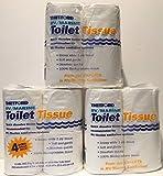 Thetford 20804 RV/Marine Toilet Tissue, Single Ply 3 - Pack (12 Rolls)