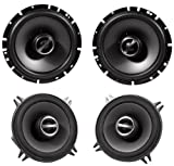 Package: Alpine Sps-610 6.5' 2 Way Pair of Coaxial Car Speakers + Alpine Sps-510 5.25' 2 Way Pair of Car Speakers