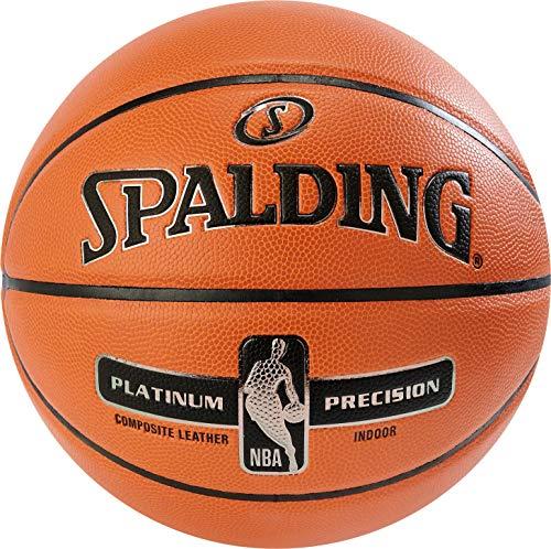 Spalding Unisex– Erwachsene NBA Platinum Precision SZ.7 (76-307Z) Basketball, orange, 7