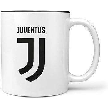 Juventus FC - Tazza con lo stemma (Taglia Unica) (-Banco/Nero)