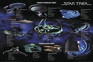 Póster Star Trek, naves