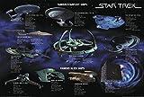Star Trek Poster Famous Starfleet Ships Collage (101,5cm x 68,5cm) + Ü-Poster