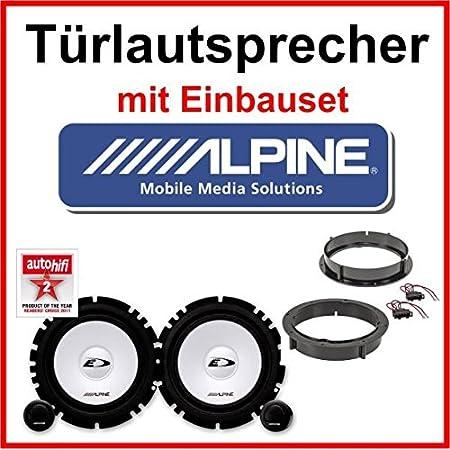 Alpine Lautsprecher Mit Einbauset Für Opel Corsa B C Elektronik
