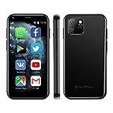 SOYES XS11 - Mini smartphone Android 6.0, 3G, 3D, vetro ultra sottile, fotocamera Palm HD, Dual SIM,...