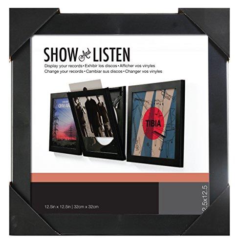 Tipo de vinilo Show y listas Flip Frame, 1pieza, Negro, 16459