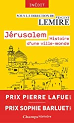Jérusalem - Histoire d'une ville-monde des origines à nos jours de Vincent Lemire