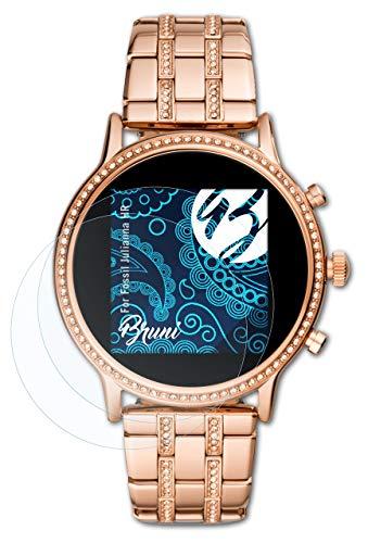 Bruni Schutzfolie kompatibel mit Fossil Julianna HR Folie, glasklare Bildschirmschutzfolie (2X)