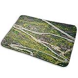 NA Luftaufnahme von RoadCarpet 15,8x23,6 Zoll rutschfeste verblasste Türmatte Outdoor Indoor Mat Indoor Carpet