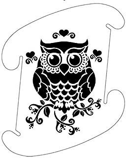 Owl Black Pattern Medium Infinity Lights, Puzzle Lights, IQ Lights, LuvaLamps, Jigsaw Lamps, ZE Lights 30 Piece Pack USA