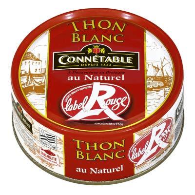 Connetable thon blanc au naturel 120g