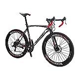 Eurobike Bicicletas adultas del camino de la bici del camino 700C para el hombre y la mujer (XC550 54-60m m)