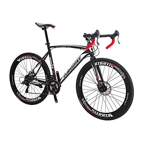 Eurobike Vélo de route 700C pour adulte pour homme et...