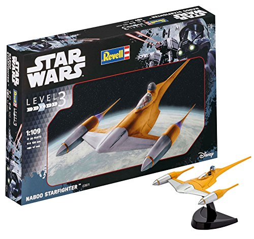 Revell Star Wars Naboo Starfighter, Kit modele, Escala 1:109...