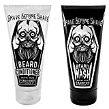 GRAVE BEFORE SHAVE Beard Wash & Beard Conditioner...