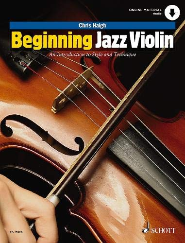 Beginning Jazz Violin: An Introduction to Style and Technique (String Method)