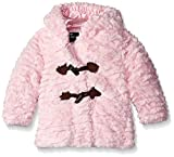 Rothschild Baby-Girls Novelty Groove Teddy Jacket, Petal Pink, 18 Months