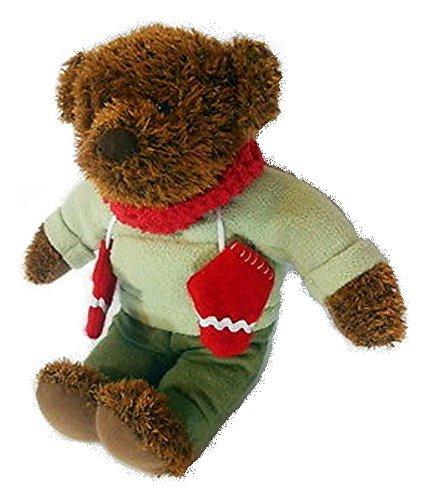 Hallmark 12 Teddy Mittens Plush Celebrating 100th Anniversary of the Teddy Bear 2002 by Glittering Goodies