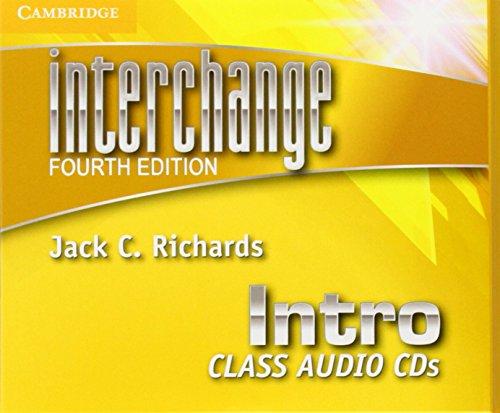 INTERCHANGE INTRO CLASS AUDIO CD (3) - 4TH ED