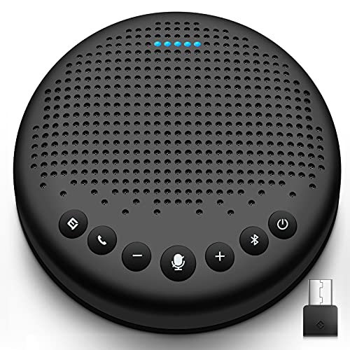 eMeet Bluetooth Konferenzlautsprecher - Luna USB Freisprecheinrichtung für 5-10...