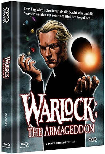 Warlock 2 - The Armageddon- uncut (Blu-Ray+DVD) auf 500 limitiertes Mediabook Cover...