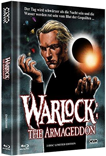 Warlock 2 - The Armageddon- uncut (Blu-Ray+DVD) auf 500 limitiertes Mediabook Cover B