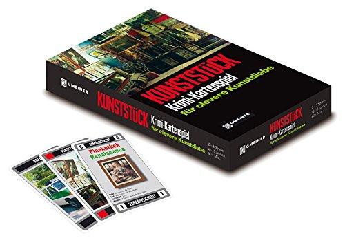 Hutter Trade Selection 77871 - Kunststück - Krimi-Kartenspiel für clevere Kunstdiebe (Gmeiner Verlag)