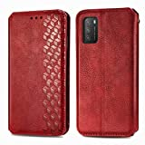 TOPOFU Leather Folio Case for Xiaomi Poco M3, Premium