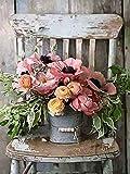 Romantischer Blumenstrauß – (AR-021) (30x40 cm) Gobelin Stickbild Stickpackung Halber Kreuzstich