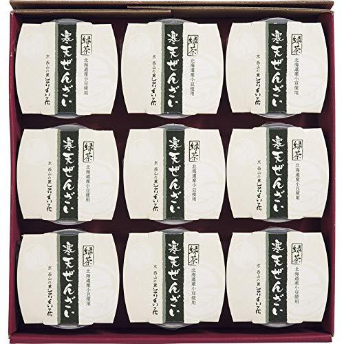 京都 苔香居(たいこうきょ) 緑茶寒天ぜんざい 【スイーツ デザート 和菓子 和風 詰め合わせ つめあわせ 贅沢 おいしい 美味しい うまい お取り寄せ グルメ 】